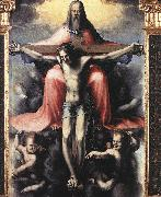 BECCAFUMI, Domenico Trinity (detail) df oil painting picture wholesale