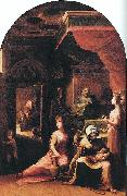 BECCAFUMI, Domenico Birth of the Virgin dfgf oil painting picture wholesale