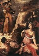 BECCAFUMI, Domenico Moses and the Golden Calf fgg oil painting picture wholesale