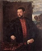 BECCARUZZI, Francesco Portrait of a Man fg oil