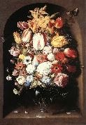 BEERT, Osias Bouquet in a Niche oil