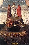 BELLINI, Giovanni Transfiguration of Christ se oil
