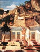 BELLINI, Giovanni Sacred Allegory (detail) dfgjik oil painting picture wholesale