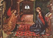 BERRUGUETE, Pedro Annunciation xnitte oil painting picture wholesale