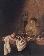 BEYEREN, Abraham van The Breakfast oil