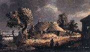 BLOOT, Pieter de Landscape with Farm oil