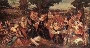 BONIFACIO VERONESE The Finding of Moses  dghgh oil painting picture wholesale