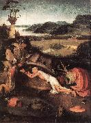 BOSCH, Hieronymus St Jerome in Prayer gfjgh oil painting picture wholesale