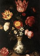 BOSSCHAERT, Ambrosius the Elder Flower Piece fg oil painting artist