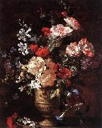 BOSSCHAERT, Jan-Baptist Flower Piece gfh oil
