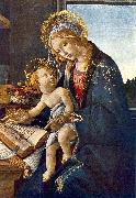 BOTTICELLI, Sandro Madonna with the Child (Madonna with the Book)  vg oil painting picture wholesale