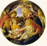 BOTTICELLI, Sandro Madonna of the Magnificat  fg oil painting picture wholesale