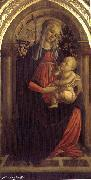 BOTTICELLI, Sandro Madonna of the Rosengarden fhg oil painting picture wholesale