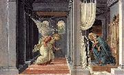 BOTTICELLI, Sandro The Annunciation fd oil painting picture wholesale