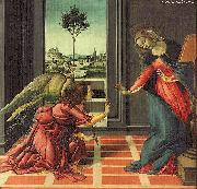 BOTTICELLI, Sandro The Annunciation gfhfghgf oil painting picture wholesale