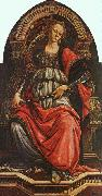 BOTTICELLI, Sandro Fortitude gf oil painting artist