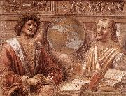 BRAMANTE Heraclitus and Democritus fd oil