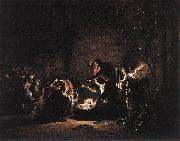 BRAMER, Leonaert The Adoration of the Magi dfkii oil painting artist