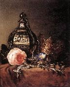 BRAY, Dirck Still-Life with Symbols of the Virgin Mary oil