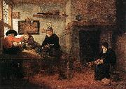 BREKELENKAM, Quiringh van Interior of a Tailor s Shop oil