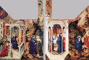 BROEDERLAM, Melchior The Dijon Altarpiece oil