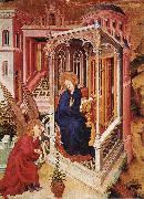 BROEDERLAM, Melchior The Annunciation qow oil