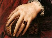 BRONZINO, Agnolo Portrait of Lucrezia Panciatichi (detail) fd oil painting picture wholesale