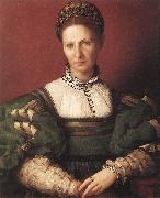 BRONZINO, Agnolo Portrait of a Lady in Green oil painting picture wholesale