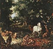 BRUEGHEL, Jan the Elder The Original Sin (detail) fg oil painting picture wholesale