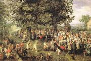 BRUEGHEL, Jan the Elder Wedding Banquet g oil painting picture wholesale