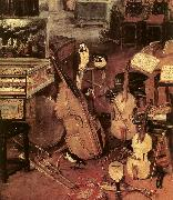 BRUEGHEL, Jan the Elder The Sense of Hearing (detail) d oil painting picture wholesale