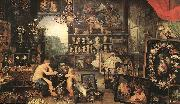 BRUEGHEL, Jan the Elder The Sense of Sight oil painting picture wholesale