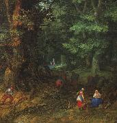 BRUEGHEL, Jan the Elder Rest on the Flight to Egypt, detail f oil painting picture wholesale