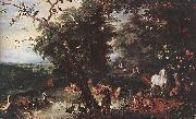 BRUEGHEL, Jan the Elder The Original Sin f oil painting picture wholesale