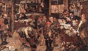 BRUEGHEL, Pieter the Younger Village Lawyer fg oil painting picture wholesale