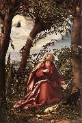 BURGKMAIR, Hans St John the Evangelist in Patmos d oil painting picture wholesale
