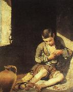 Bartolome Esteban Murillo The Young Beggar oil painting picture wholesale