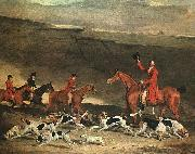 Benjamin Marshall Francis Dukinfield Astley and his Harriers oil painting artist