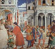 Benozzo Gozzoli The School of Tagaste oil painting artist