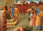 Benozzo Gozzoli The Fall of Simon Magus oil painting artist