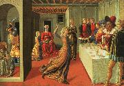 Benozzo Gozzoli The Dance of Salome oil painting artist