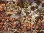 Benozzo Gozzoli Procession of the Magus Gaspar oil painting picture wholesale