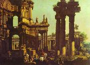 Bernardo Bellotto Ruins of a Temple oil painting picture wholesale