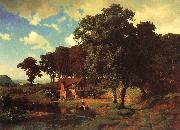 Bierstadt, Albert A Rustic Mill oil