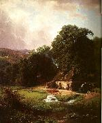 Bierstadt, Albert The Old Mill oil