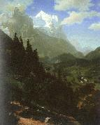 Bierstadt, Albert The Wetterhorn oil