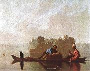Bingham, George Caleb Fur Traders Going down the Missouri oil painting picture wholesale