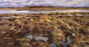 Bruno Andreas Liljefors The Curlews oil painting picture wholesale
