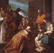 CAJES, Eugenio The Adoration of the Magi f oil
