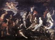 CAMASSEI, Andrea The Hunt of Diana oil